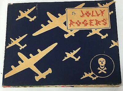 """Original WWII US Army Air Corps """"Jolly Rogers"""" 90th Bomb Group Yearbook"""