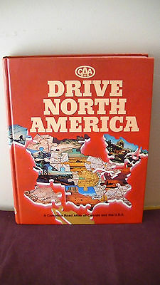 CAA Drive North America complete road Atlas Canada and U.S.A. 1983 HIGH DETAIL!!