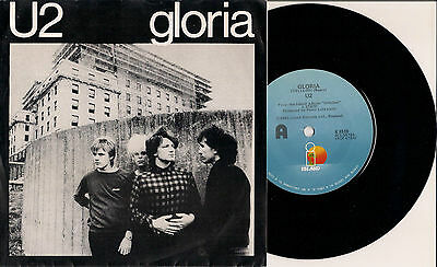 U2-Gloria-I Will Follow New Zealand Released Only Pic Sleeve Ultra Rare K8510
