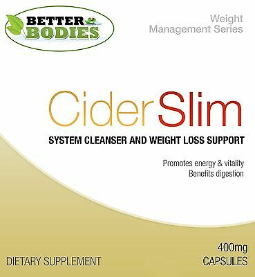 Apple Cider Vinegar Capsules Diet Supplement Weight Loss Pills PACK SIZE 60-180