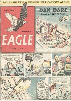 Uk Comics Eagle Original Series 400+ Issues On Dvd From 1950-1965