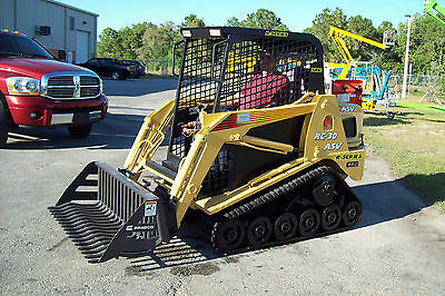 "ASV-Terex RC30-PT30-RT07,Rock Bucket, 48"" Wide, 1 1/8"" Tines,Free Shipping"