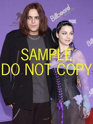 #D3812 AMY LEE Evanescence candid Photo BUSTY!!