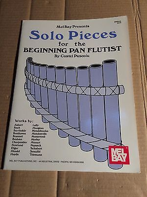 Solo Pieces For The Beginning Pan Flutist - Puscoiu - Mel Bay