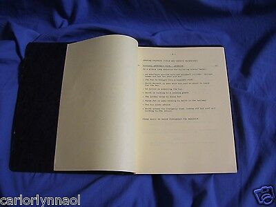 SIGNED MOVIE SCRIPT PRELUDE TO FALL Joan Kroc heiress McDonalds Operation Cork