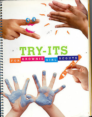 Try-Its for Brownie Girl Scouts Book ~ Requirements for old style Brownie Badges