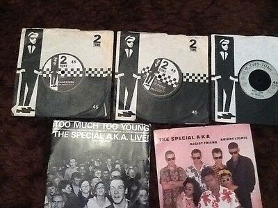 THE SPECIALS 5x SINGLES COLLECTION. SEE PICTURES FOR TITLES