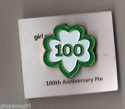 Girl Scout 100th Anniversary Trefoil Pin - NEW