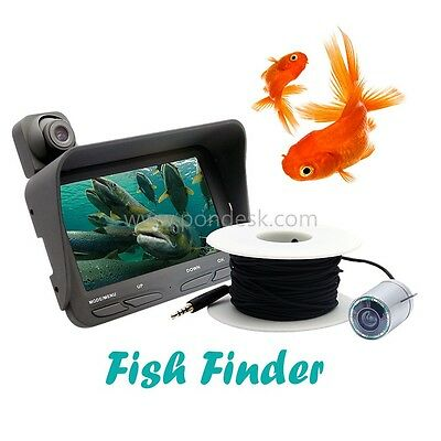 20m Fish Finder Night Vision Live Fishing Camera With LCD  4.3 inch TFT LCD
