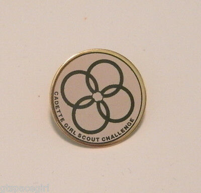 Cadette Girl Scout Challenge Pin ~ Pre-Owned