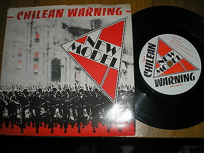 New Model Chilean Warning/totilitarian Terror Mrc 001 Punk Pic Cover  Near Mint