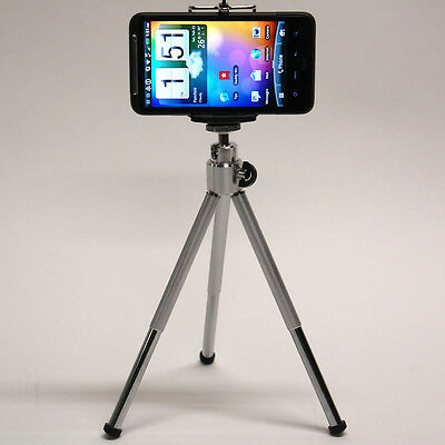 DP 2in1 S cell phone mini tripod for Sprint LG V20 X power Tribute HD 5 cellular