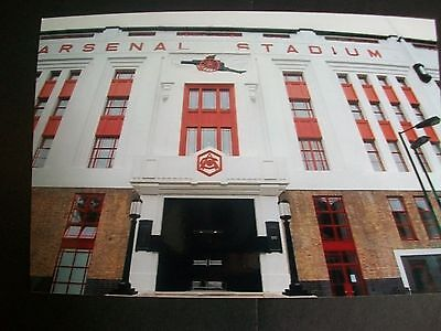 "ARSENAL STADIUM   HIGHBURY  Entrance  1980s ?    6""x4""  Photo REPRINT"