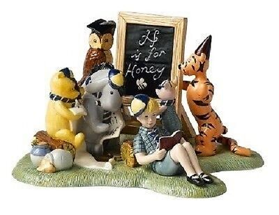 Royal Doulton Winnie The Pooh School Time In The Hundred Acre Wood Wp 128