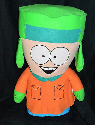 "South Park Kyle Large 31"" Foam Filled Plush Doll 2008 Nanco Comedy Central Rare!"
