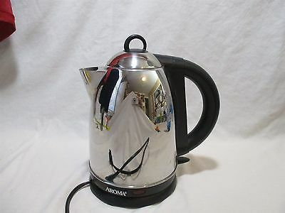 Aroma Electric Kettle for Hot Water with Separate Heating Devise Stand