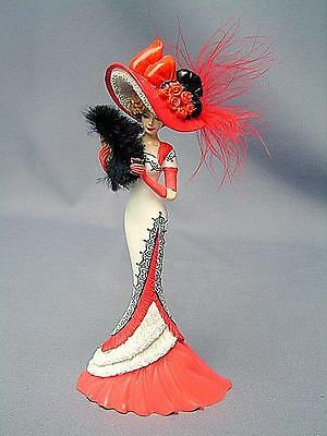 """COCA-COLA FIGURINE VICTORIAN BEAUTIES """"A Refreshing Moment of Romance"""" 1066"""
