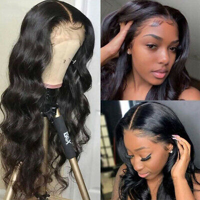 Real Thick 100% Brazilian Human Hair Silk Full Lace/Lace Front Wigs Baby Hair HE