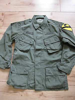 US Army Feldjacke Vietnam 1st Cavalry Fieldjacket Jungle Jacket M64 - XL Marines