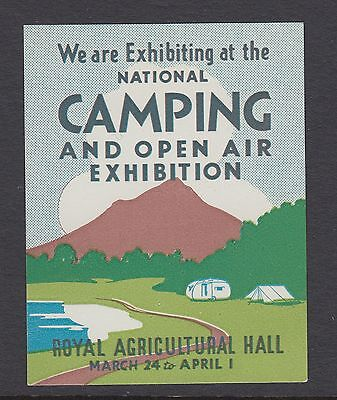 Camping And Open Air Exhibition - London - Cinderellas