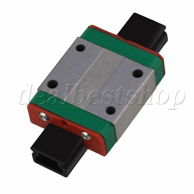 35x27x10mm Guide Rail Sliding Block MGN12C for Precise Measure Equipment