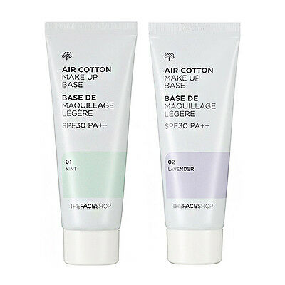 [THE FACE SHOP] Air Cotton Make Up Base [SPF30/PA++] 2 Color 40ml/Korea cosmetic