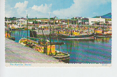 Fishing boats in the Harbour, Buckie, Banffshire