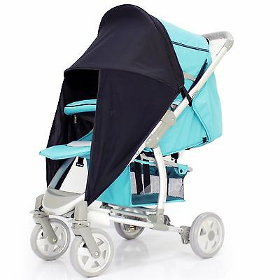 iSafe Sunny Sail - Black For OBaby Buggy
