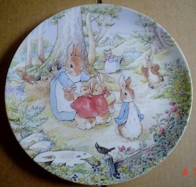 Wedgwood Collectors Plate THE TALE OF PETER RABBIT