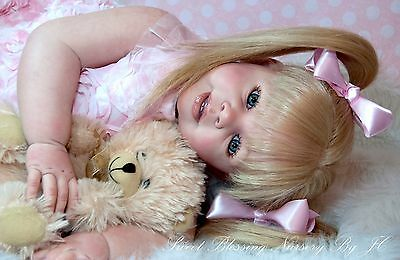 Reborn Toddler Katie Marie by Ann Timmerman Human Hair/ Custom ♡u pick details♡
