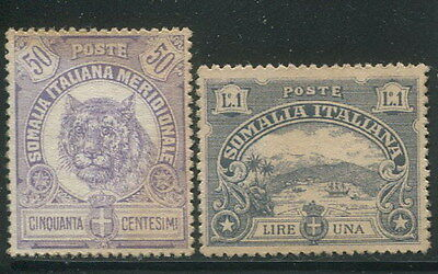 2 pieces of ITALY Colony SOMALIA 1904 Unissued Essay Stamps High Quality REPLICA