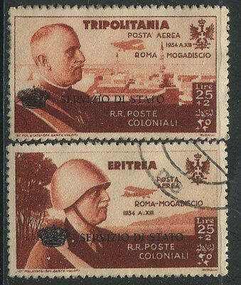 ITALY RARE 1934 Servizio di Stato Official Airmail OP. Used High Quality REPLICA