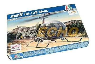 ITALERI Helicopter Model 1/48 OH-13S Sioux Scale Hobby 857 T0857