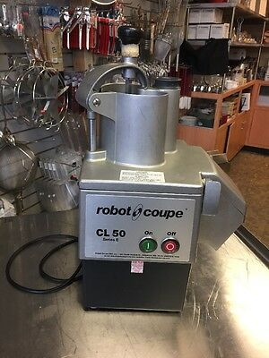 Robot Coupe (CL50 Series E) 1 HP Commercial Food Processor 120 Volts Used