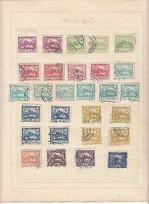 Czechoslovakia -  Old Specialist Collection On 23 Album Pages - See Scans!!