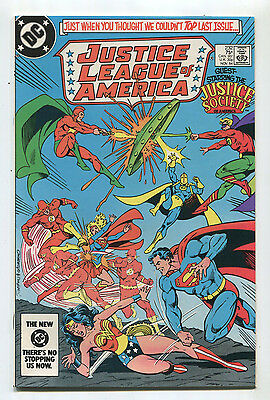 Justice League Of America #232 NM  Guest Star Justice Society   DC Comics CBX1H