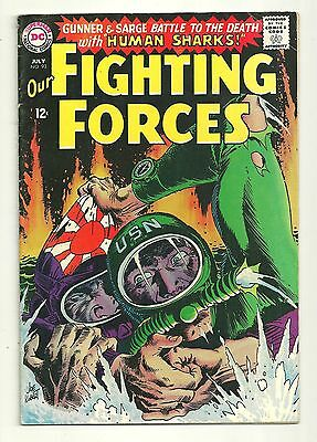 Our Fighting Forces (1954) #93 1st Printing DC War Comics Joe Kubert Very Good!!