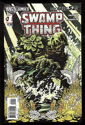 Swamp Thing (2011) #1 First Printing New 52 Scott Snyder Yanick Paquette Art NM-