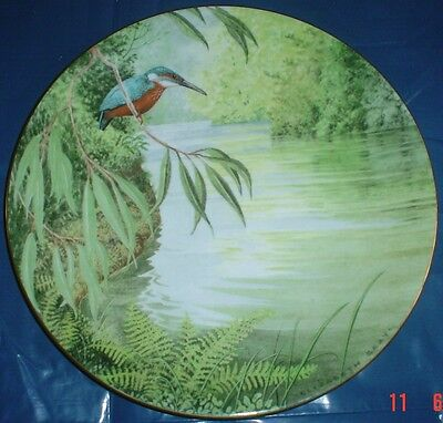 Royal Doulton WATERSIDE - THE KINGFISHER Collectors Plate