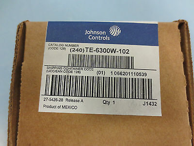 Immersion Well, Johnson Controls, TE-6300W-102