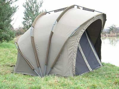 Nash Double Top Apex 1 Man T1060 Zelt Angelzelt Karpfenzelt Bivvy Dome Tent