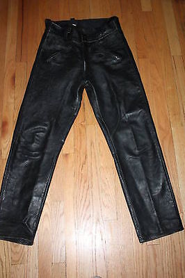 vintage BUCO Horsehide Pants 31 31 Motorcycle Leather Riding 50's 60's