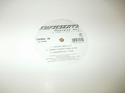 "Suficiente-Muevelo asi-1998 12"" single"
