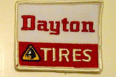 Dayton Tire Embroidered Patch Vintage