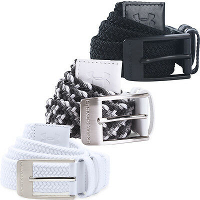 Under Armour 2017 Mens Braided Stretch-fit Woven Golf Webbing Belt