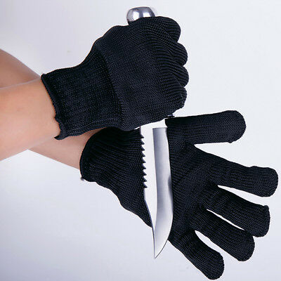 Breathable Hand Work Safety Cut Metal Mesh Butcher Anti-cutting Gloves One Pair