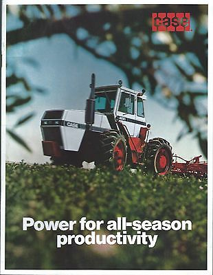 Farm Tractor Brochure - Case - Product Line Overview (F5002)