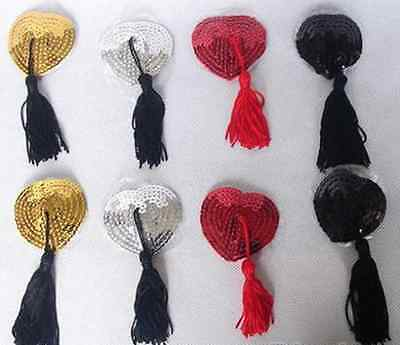 Choice 6 Colours Sex Product Toys Lingerie Sequin & Tassels Breast Nipple Cover