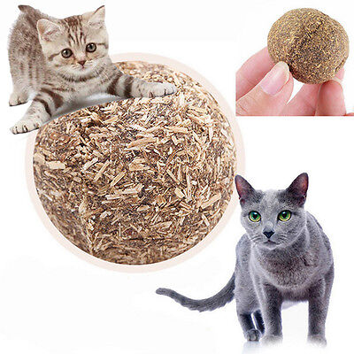 20G Pet Toys Natural Catnip Healthy Funny Play #C Treats Toy Ball for Cat Kitten