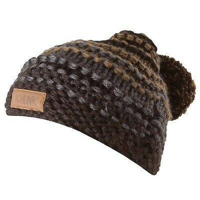 NEW Fox Chunk Heavy Knit Bobble Beanie Hat - CPR507